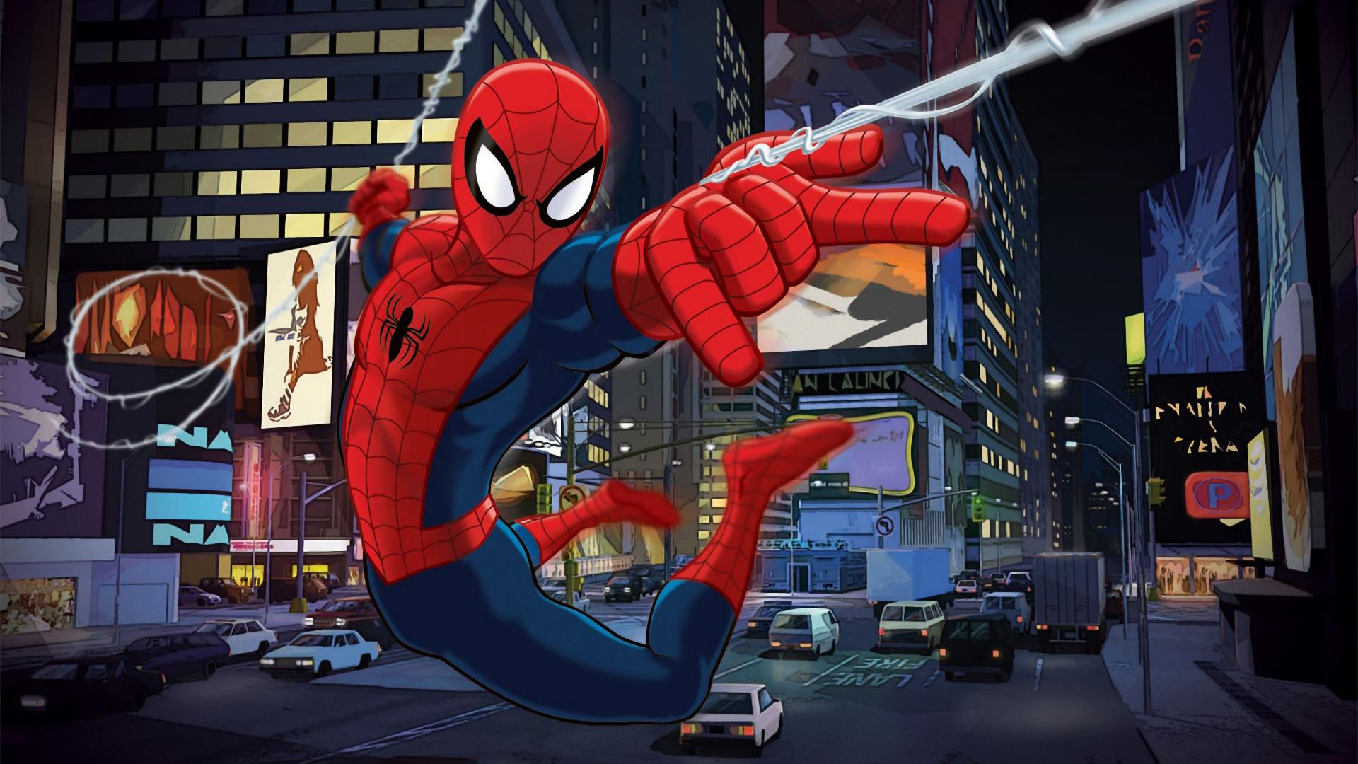 Человек паук мультик 16 фотография