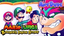 AntDude - Episode 21 - Mario & Luigi: Bowser's Inside Story | Journey to the Center...