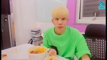 ASTRO vLive show - Episode 74 - It's MJ Mukbang ✌️