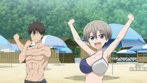 Uzaki-chan wa Asobitai! - Episode 6 - Summer! The Beach! I Want to Test My Courage!