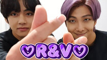 BTS vLive show - Episode 25 - [BTS] I am A&D... R&V's cuteness is going to kill me..ლ(ˊᗜˋლ)