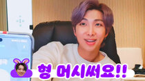 BTS vLive show - Episode 28 - [BTS] RM talking about 'Map of the soul : 7'