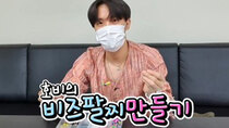 BTS vLive show - Episode 55 - [BTS] J-HOPE making beads bracelet????
