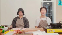 BTS vLive show - Episode 70 - Today, we're really gimbap chefs