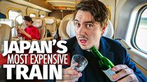 Abroad in Japan - Episode 10 - Inside Japan's Most Expensive Bullet Train | $750 Seat