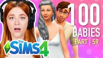 The 100 Baby Challenge - Episode 1 - Single Girl Tries The 100 Baby Challenge In The Sims 4 | Part...