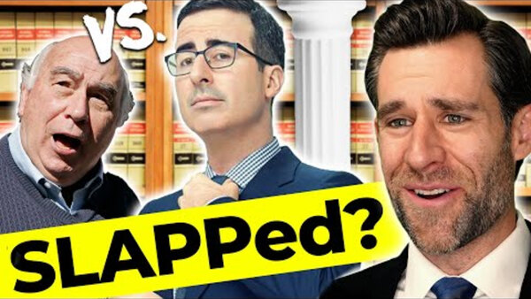 Real Life, Real Law Reviews - S2019E22 - Lawyer Responds: John Oliver SLAPPs Back?