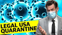 Real Life, Real Law Reviews - Episode 8 - Can the USA Legally Quarantine the Coronavirus?
