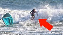 Casey Neistat Vlog - Episode 28 - kite surfing idiot nearly cut my feet off