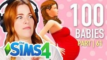 The 100 Baby Challenge - Episode 3 - Single Girl Has Her First Time In The Sims 4 | Part 61