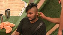 Bigg Boss - Episode 3 - Jaan aces the mohawk challenge!