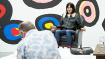 Portrait Artist of the Year - Episode 2 - Noel Fielding, Reggie Yates, Daphne Selfe