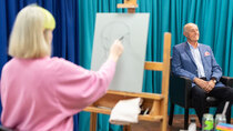 Portrait Artist of the Year - Episode 3 - Len Goodman, Tinie Tempah and Harriet Walter