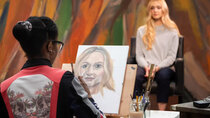 Portrait Artist of the Year - Episode 5 - John Cooper Clarke, Fearne Cotton and Haydn Gwynne