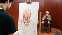 Portrait Artist of the Year - Episode 7 - Ken Stott, Mike Leigh, Lydia Leonard