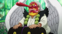 One Piece - Episode 956 - Ticking Down to the Great Battle! The Straw Hats Go into Combat...