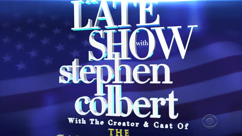 Screenshot of The Late Show with Stephen Colbert Season 6 Episode 18 (S06E18)