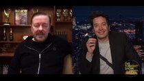 The Tonight Show Starring Jimmy Fallon - Episode 62 - Ricky Gervais, Daisy Edgar-Jones, The Avett Brothers