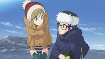 Yuru Camp Season 2 - Episode 6 - Cape Ohmama in Winter
