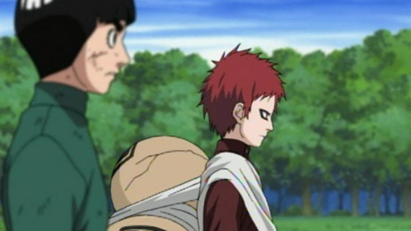 Naruto - Ep. 126 - Showdown of the Strongest! Gaara vs. Kimimaro!!
