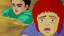 Hokuto no Ken - Episode 95 - Treacherous Quicksand! Will the Hand of Salvation Reach Fudo?