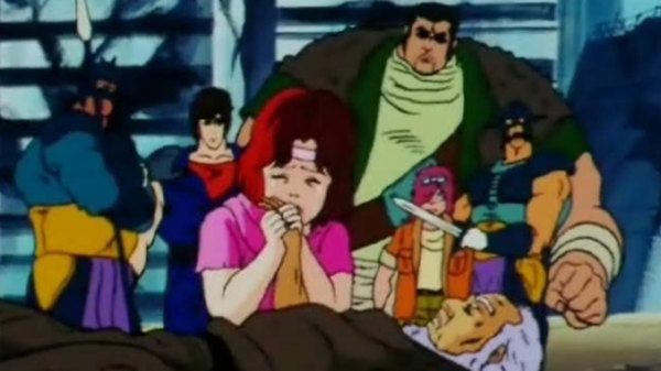 Hokuto no Ken - Ep. 91 - The Clouds Remain! The Masked General Is Finally Revealed!!