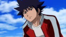 Air Gear - Episode 14 - Collision! The Old & New Sky King's Heir vs. the Old & New Sleeping...
