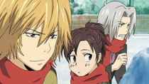 Katekyou Hitman Reborn! - Episode 15 - Clash! Survival Snowball Fight