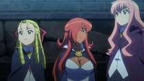 Zero no Tsukaima F - Episode 4 - The Queen's Reward