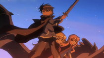 Zero no Tsukaima F - Episode 10 - The Awakening of Calamity
