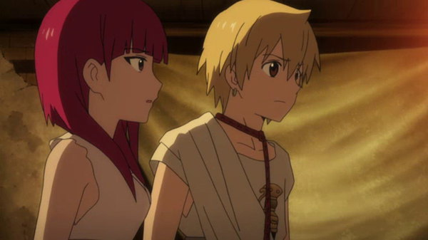Magi: The Labyrinth of Magic - Ep. 11 - A New Visitor