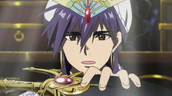 Magi: The Labyrinth of Magic - Ep. 19 - The Name of the Culprit Is Sinbad