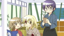 Hidamari Sketch x Honeycomb - Episode 8 - October 11th and October 30th: The Terror! Preparing for the...
