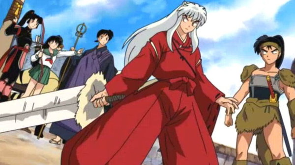 Inuyasha - Ep. 111 - The Big Clash: Banryu versus the Wind Scar