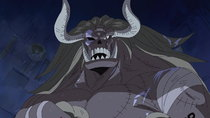 One Piece - Episode 351 - Awakening After 500 Years!! Oars Opens His Eyes!!