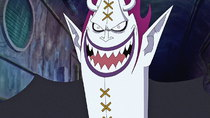 One Piece - Episode 350 - The Warrior Known As the 'Devil'!! The Moment of Oars' Revival!