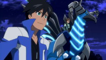 Juusen Battle Monsuno - Episode 2 - Courage