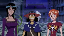 One Piece - Episode 371 - The Straw Hat Crew Gets Wiped Out! The Shadow-Shadow's Powers...