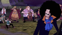 One Piece - Episode 380 - Bink's Booze! The Song That Connects the Past with the Present!