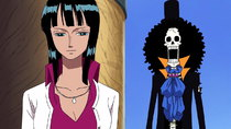 One Piece - Episode 384 - Brook's Great Struggle! Is the Path to Becoming a True Comrade...
