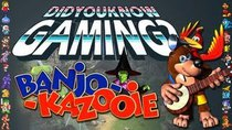 Did You Know Gaming? - Episode 6 - [Old] Banjo Kazooie