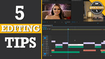 Film Riot - Episode 472 - Quicktips: 5 Tips For Faster Editing!