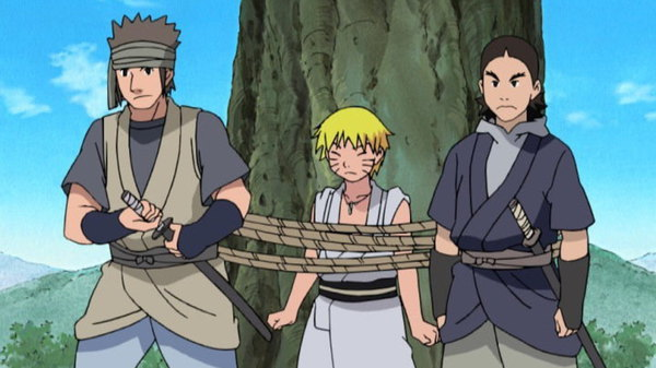 Naruto - Ep. 97 - Kidnapped! Naruto's Hot Springs Adventure!