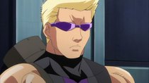 Marvel Disk Wars: The Avengers - Episode 4 - Re-enforcement Hawkeye