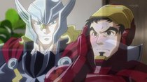 Marvel Disk Wars: The Avengers - Episode 5 - Mighty Thor Descends