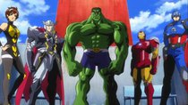 Marvel Disk Wars: The Avengers - Episode 8 - Avengers Assemble