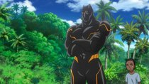Marvel Disk Wars: The Avengers - Episode 29 - His Majesty, Black Panther