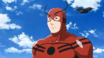 Marvel Disk Wars: The Avengers - Episode 38 - Sub-Orbital Iron Man!