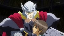 Marvel Disk Wars: The Avengers - Episode 40 - Hikaru, Thor and the Mysterious Voice