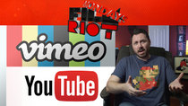 Film Riot - Episode 491 - Mondays: YouTube Vs. Vimeo & Working With Miniatures!